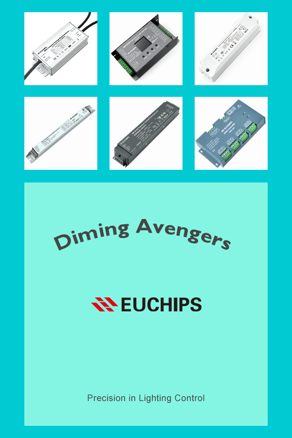 Euchips LED dimmable drivers
