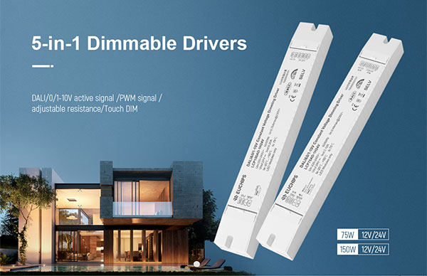 5-in-1 dimmable drivers