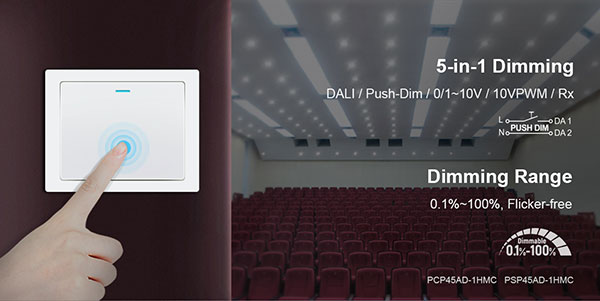 5-in-1 dimming