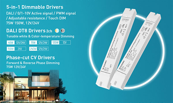 5-in-1 LED dimmable drivers