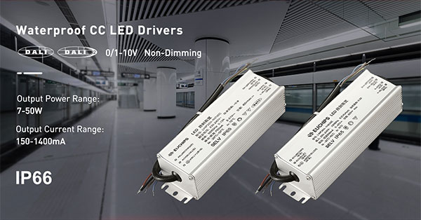 Waterproof Constant Current LED drivers