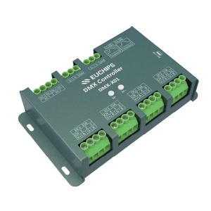 12-24VDC DMX Live and Stand Alone Controller