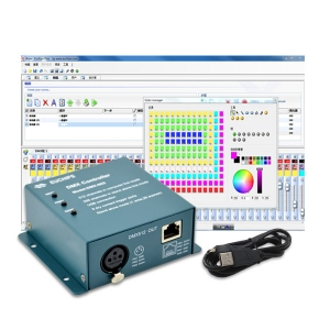 PC+Stand Alone 256ch USB DMX512 Master Controller