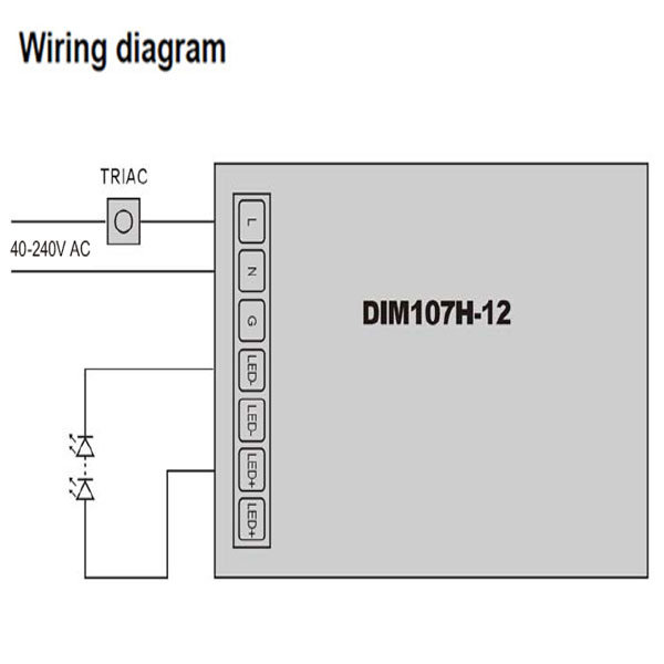 Triac dimmable Dimmer